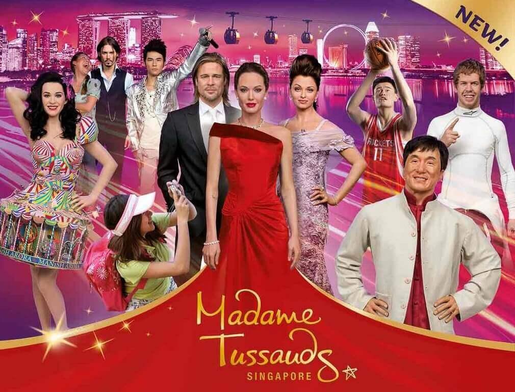 Du lịch Singapore ghé thăm bảo tàng tượng sáp Madame Tussauds
