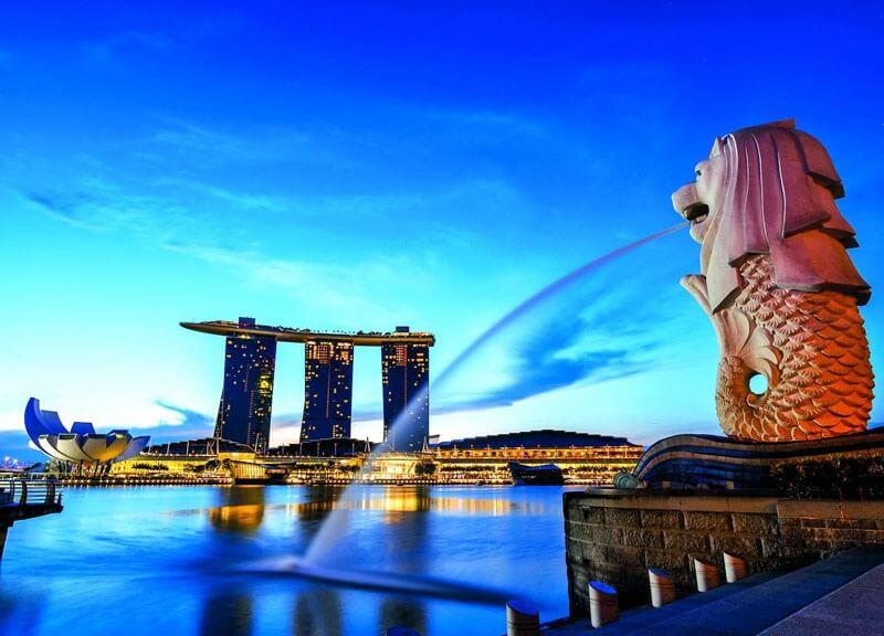 Du lịch Singapore khám phá vẻ đẹp Merlion