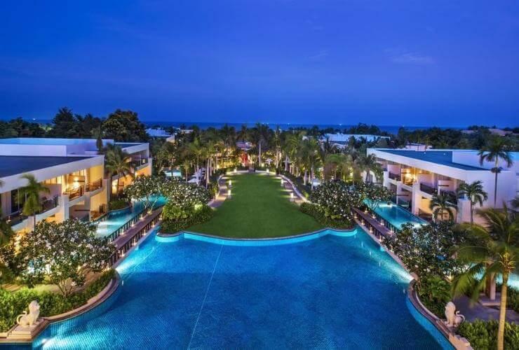 Khu nghỉ dưỡng Sheraton đã trở thành điểm đến ưa thích của du khách khi du lịch Thái Lan