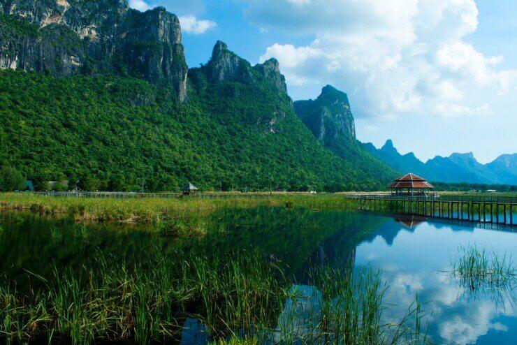 Chỉ có khách du lịch Thái Lan thật may mắn mới được ngắm nhìn cảnh quan cực hùng vĩ