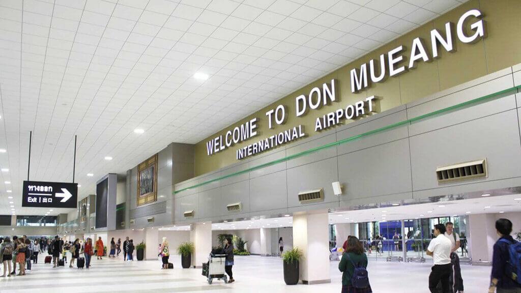 Du lịch Thái Lan - sân bay Don Muang