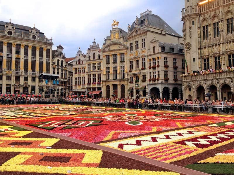 Dạo quanh những điểm du lịch Bỉ này là có ảnh đẹp ngay