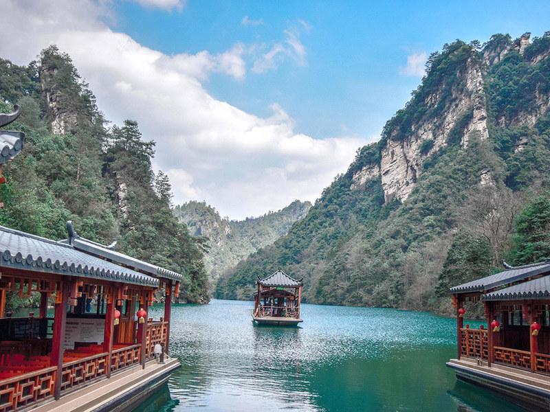 Những thắng cảnh khi du lịch Trung Quốc - Trương Gia Giới mùa thu