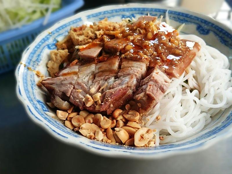 Du lịch Đà Nẵng - Món ăn Đà Nẵng - Bún mắm nêm