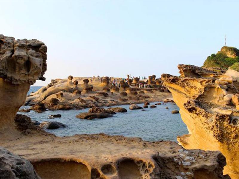 Du lịch Đài Loan - Công viên địa chất Dã Liễu
