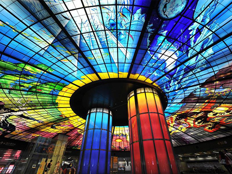 Du lịch Đài Loan - Nhà ga Cao Hùng