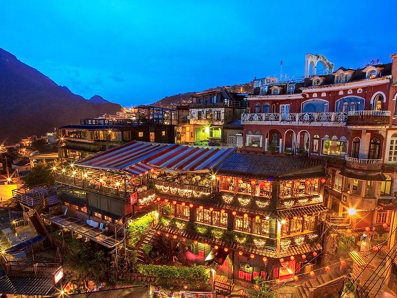 Du lịch Đài Loan - Phố cổ Cửu Phần