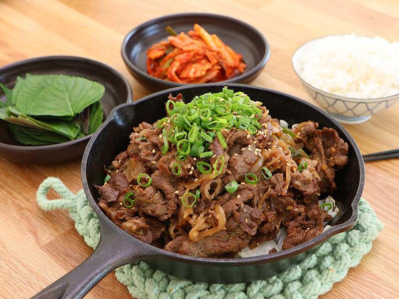 Du lịch Hàn Quốc - Món ăn Hàn Quốc - Bulgogi