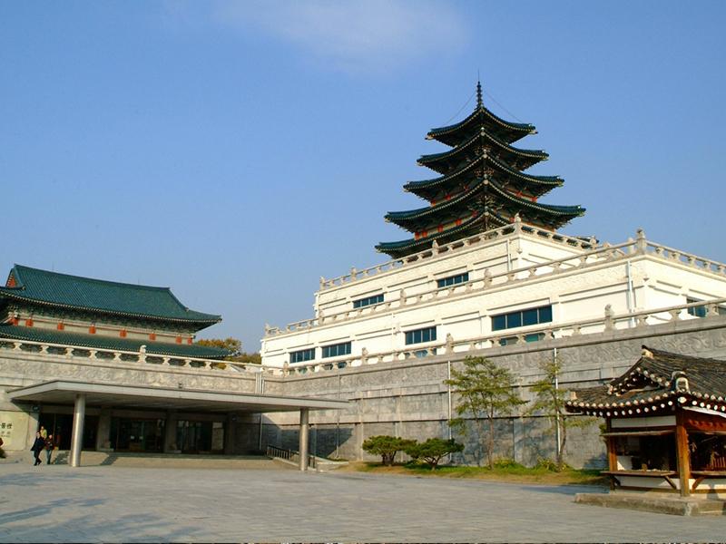 Du lịch Hàn Quốc - Cung điện Gyeongbokgung