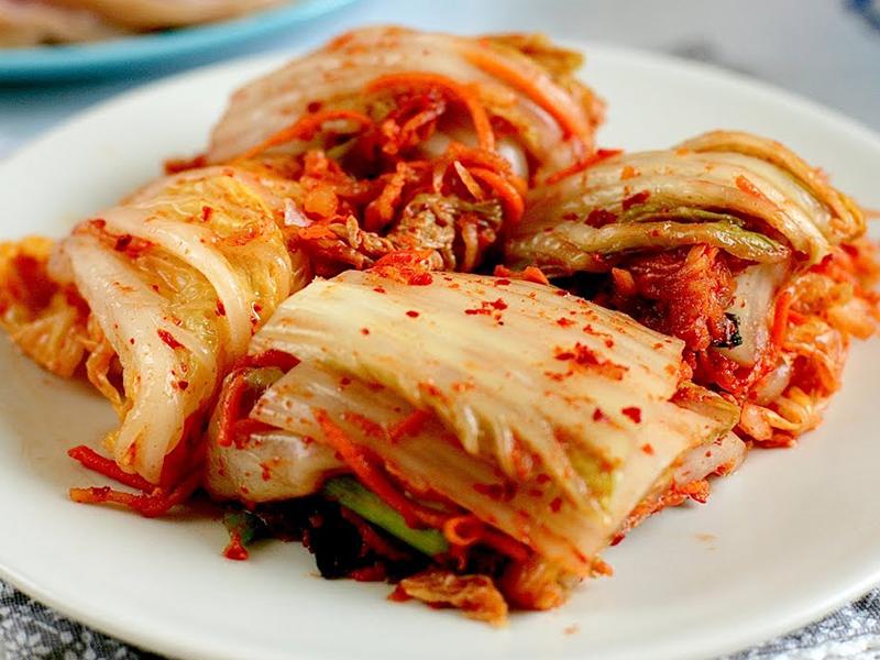 Du lịch Hàn Quốc - Món ăn Hàn Quốc - Kim chi