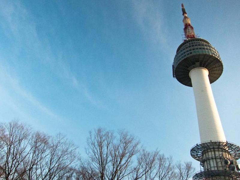 Du lịch Hàn Quốc - Tháp Namsan