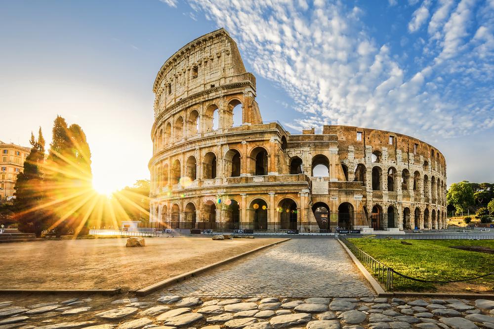 Du lịch Ý - Đấu trường La Mã Colosseum công trình thế kỷ