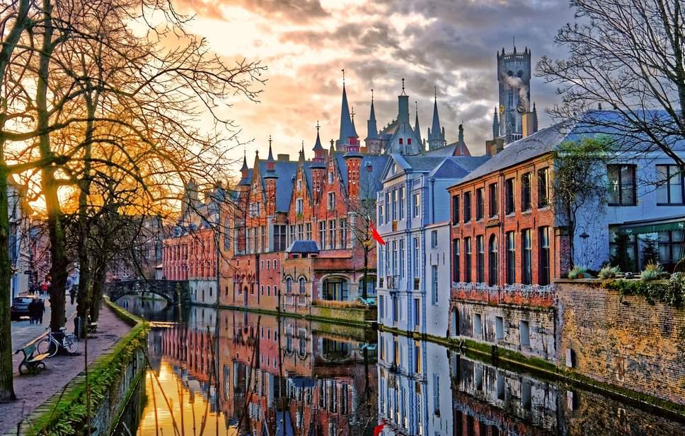 du lịch Bỉ trải nghiệm thời tiết bốn mùa
