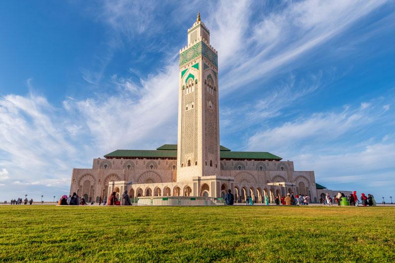 Du lịch Maroc - Thủ đô kinh tế Casablanca