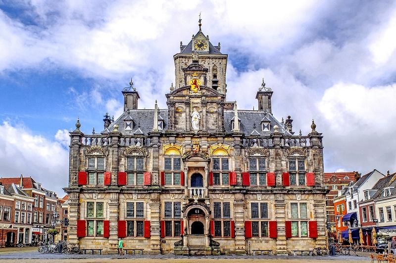 Du lịch Hà Lan: Tòa thị chính Delft