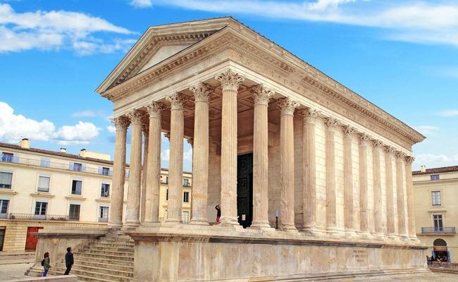 Thành phố cổ La Mã Nimes ở miền nam nước Pháp