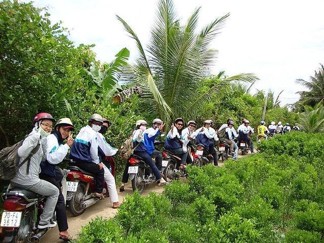 Hành trình đi du lịch Miền Tây bằng xe máy sẽ đem lại nhiều trải nghiệm thú vị