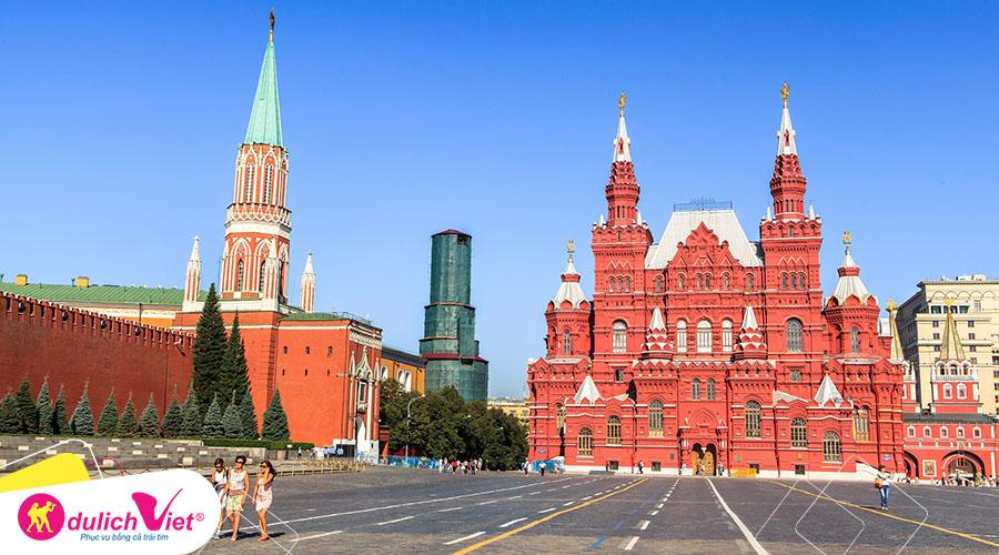 Du lịch Nga mùa Hè