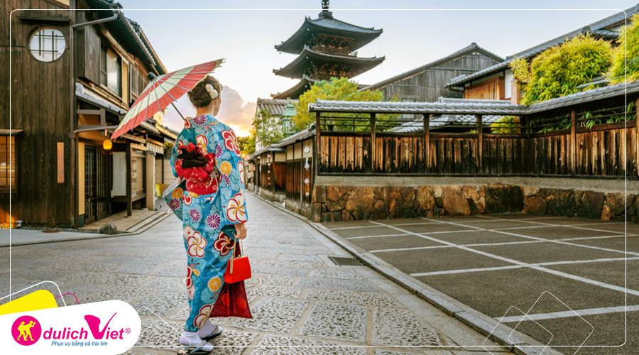 Hoa Bỉ Ngạn Nhật Bản nở vào mùa Thu