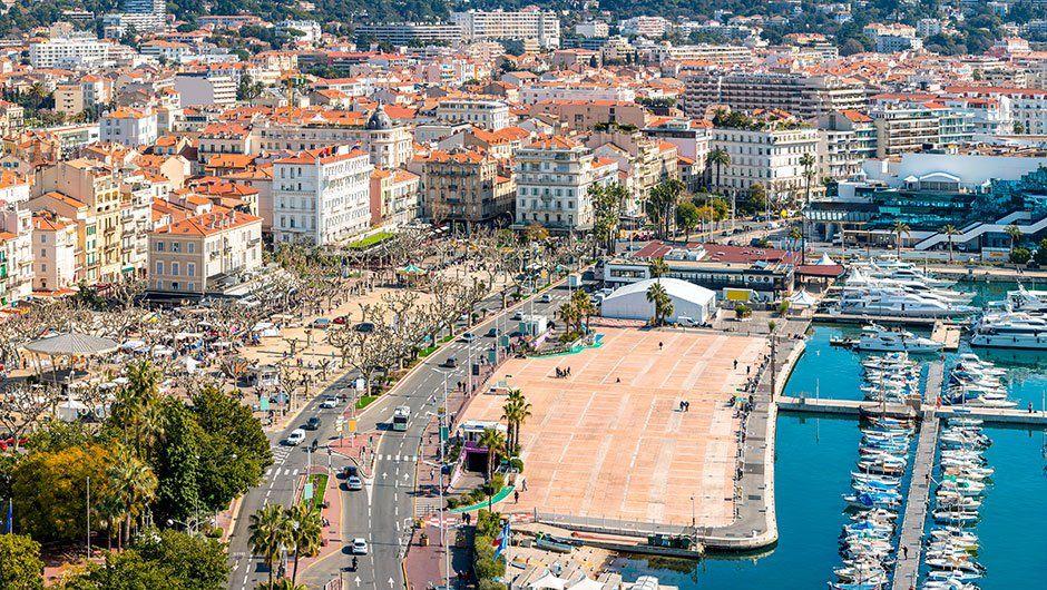 Thành phố Cannes nơi tổ chức những sự kiện lớn nhất nước Pháp