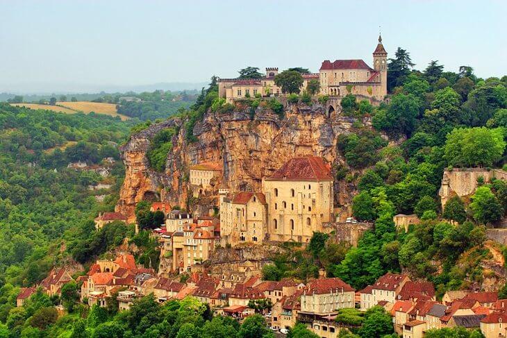 Ngôi làng Rocamadour nơi du lịch hấp dẫn vô cùng tuyệt đẹp nước Pháp