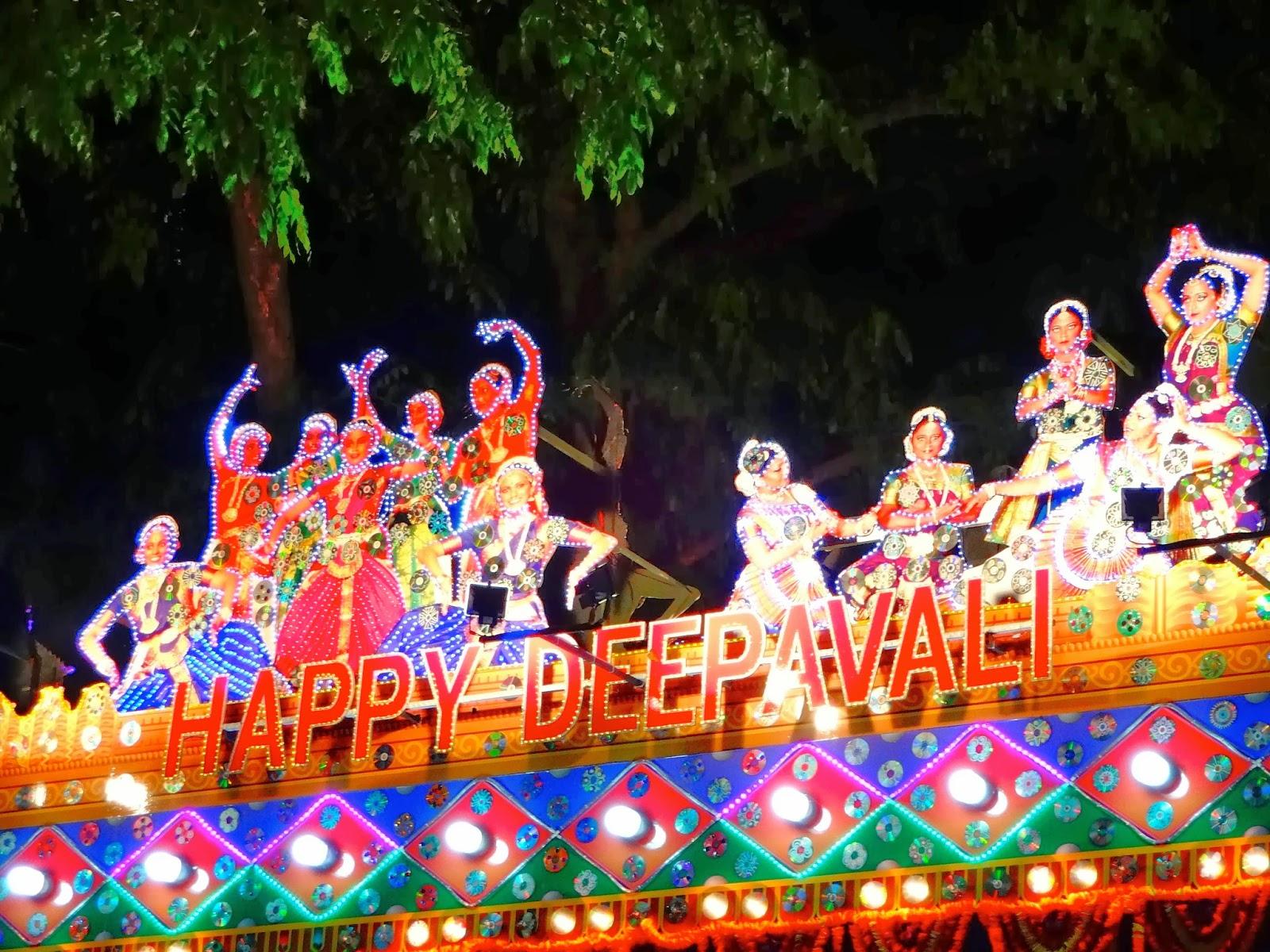 Tour Singapore - Lễ hội Ánh sáng Deepanah