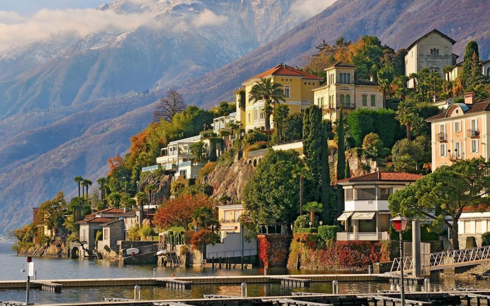 Điểm đến du lịch Thụy Sĩ tới thành phố Lugano