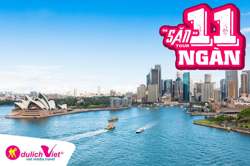 Đi tour 11.000 đồng, bạn sẽ ngỡ ngàng trước vẻ đẹp hiện đại và nhộn nhịp của nước Úc