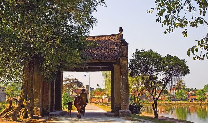 Khu làng cổ Đường Lâm