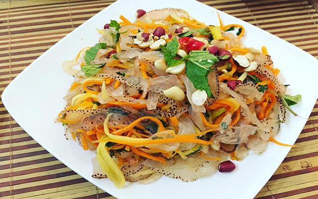 Gỏi sứa - Món ăn được yêu thích nhất bởi du khách