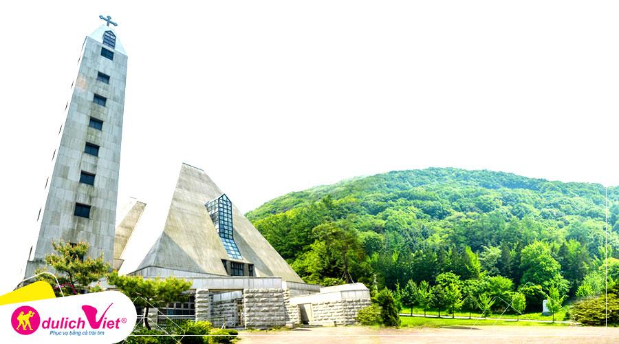 Du lịch Hành Hương Hàn Quốc - Seoul - Anseong - Gyeonggi - Jeju từ Sài Gòn