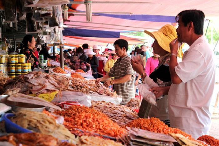 Những món hải sản khô Phú Quốc được lựa chọn làm món quà Phú Quốc cho người thân