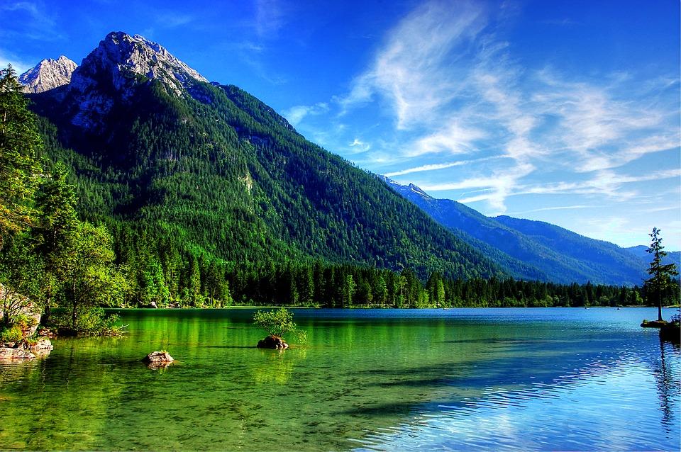Hồ Hintersee là hồ nước đẹp nhất nước Đức