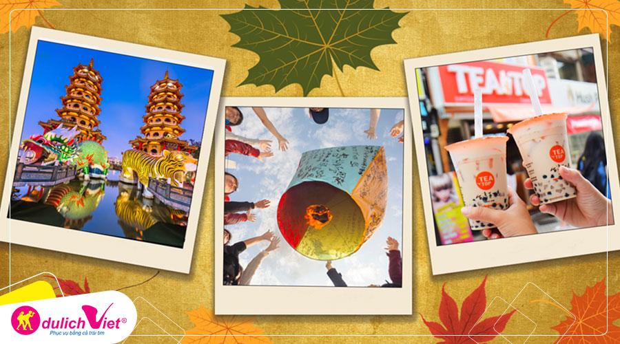 Du lịch Đài Loan mùa Thu - Đài Bắc - Đài Trung - Nam Đầu - Cao Hùng giá tốt