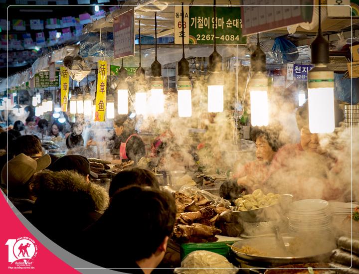 Du lịch Hàn Quốc tiêu chuẩn 5 sao từ Sài Gòn giá tốt 2018