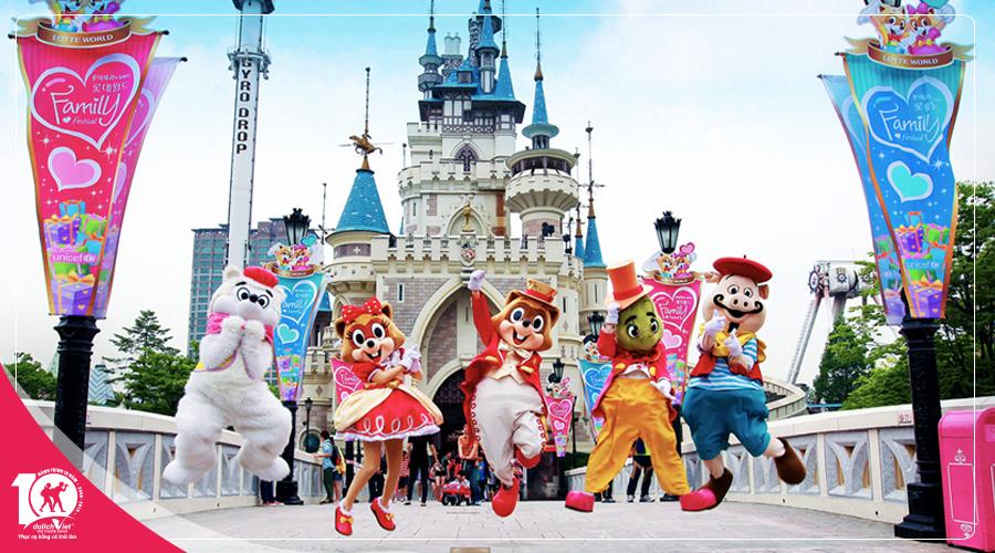 Du lịch Tết kỷ hợi 2019 Hàn Quốc Seoul - Lotte World khởi hành từ TPHCM