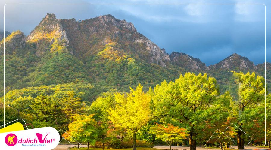 Du lịch Hàn Quốc mùa Thu - Seoul - Núi Seorak - Gangwon - Tháp Namsan từ Sài Gòn