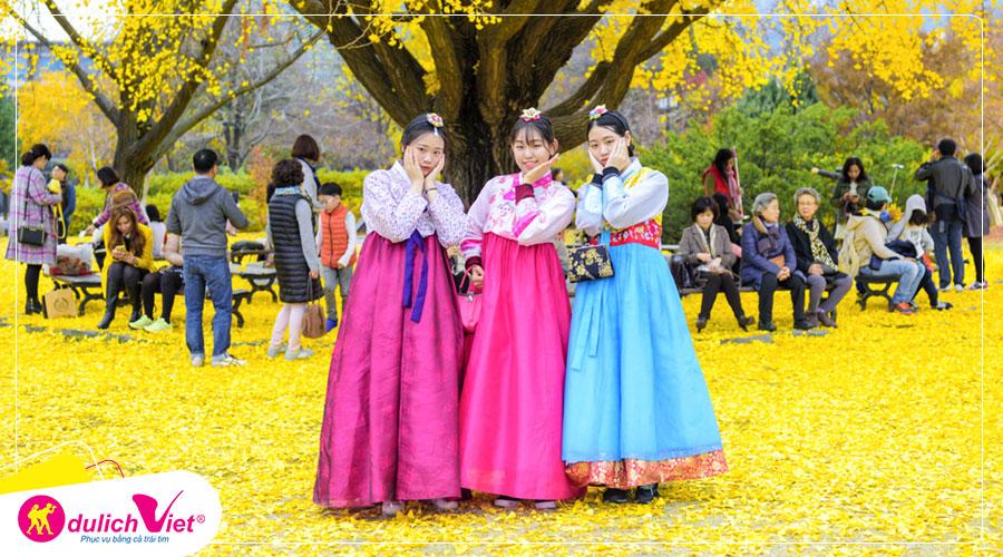 Du lịch Hàn Quốc mùa Thu - Seoul - Everland - Đảo Nami từ Sài Gòn