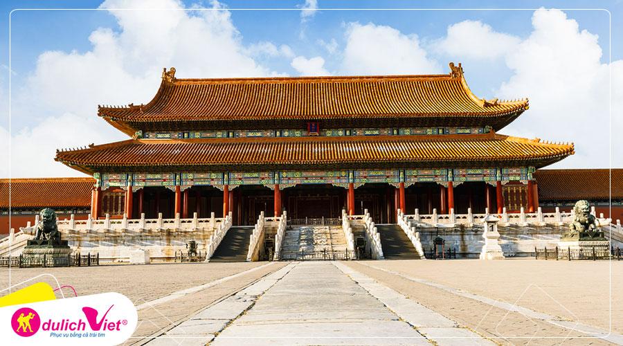Du lịch Châu Á - Liên tuyến Trung Quốc - Hàn Quốc mùa Thu từ Sài Gòn giá tốt