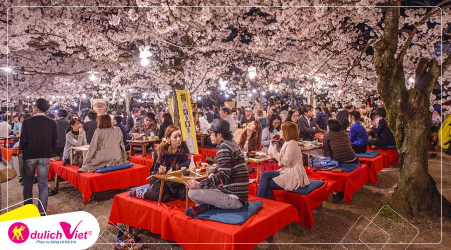 Du lịch Nhật Bản khám phá mùa hoa Anh Đào từ Sài Gòn giá tốt 2020