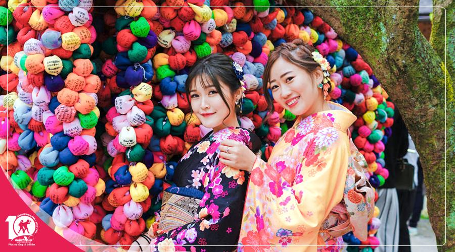 Du lịch Nhật Bản mùa xuân trải nghiệm hái cây tại vườn từ Sài Gòn giá tốt 2019