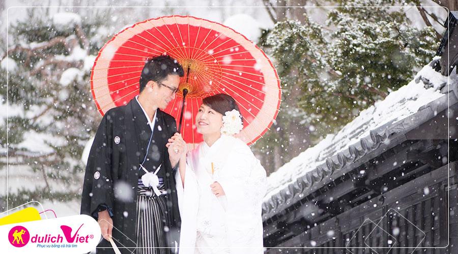 Du lịch Nhật Bản mùa Đông Osaka - Kobe - Kyoto - Kansai từ Sài Gòn giá tốt