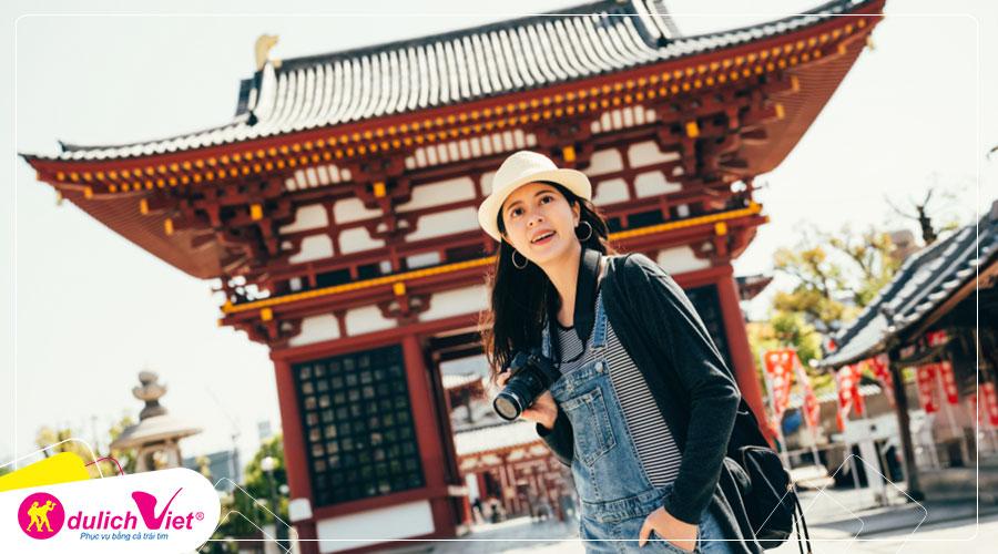 Du lịch Tết Âm lịch 2020 Tour Nhật Bản Osaka - Kobe - Núi Phú Sĩ - Kyoto - Narita từ Sài Gòn
