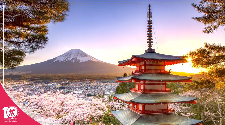 Tour Du lịch Nhật Bản mùa hoa Anh Đào 2019 từ Sài Gòn giá tốt