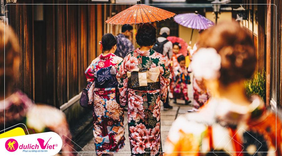 Du lịch Nhật Bản Hè Nagoya - Osaka - Kyoto - Núi phú sĩ từ Sài Gòn giá tốt