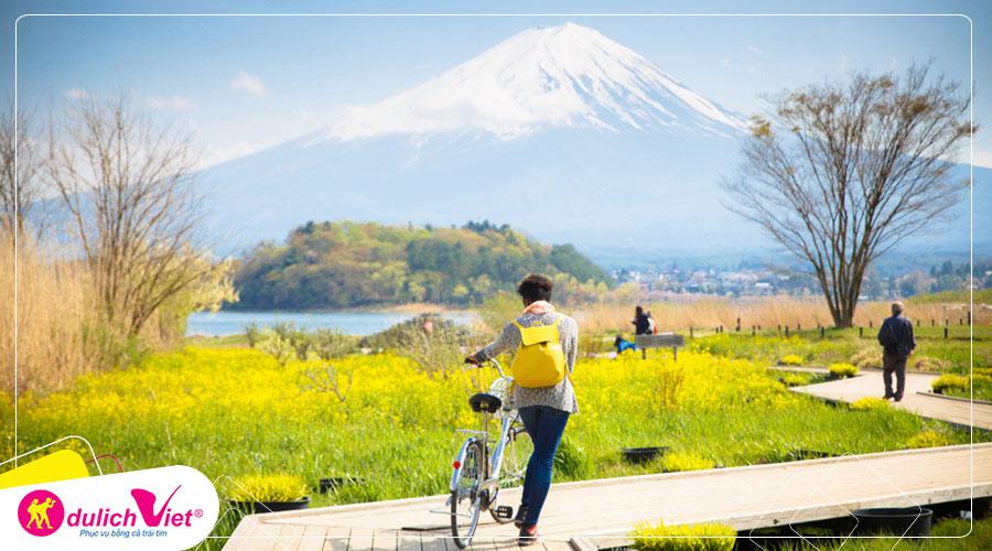 Du lịch Nhật Bản mùa Thu - Nagoya - Osaka - Kyoto - Núi Phú Sĩ từ Sài Gòn