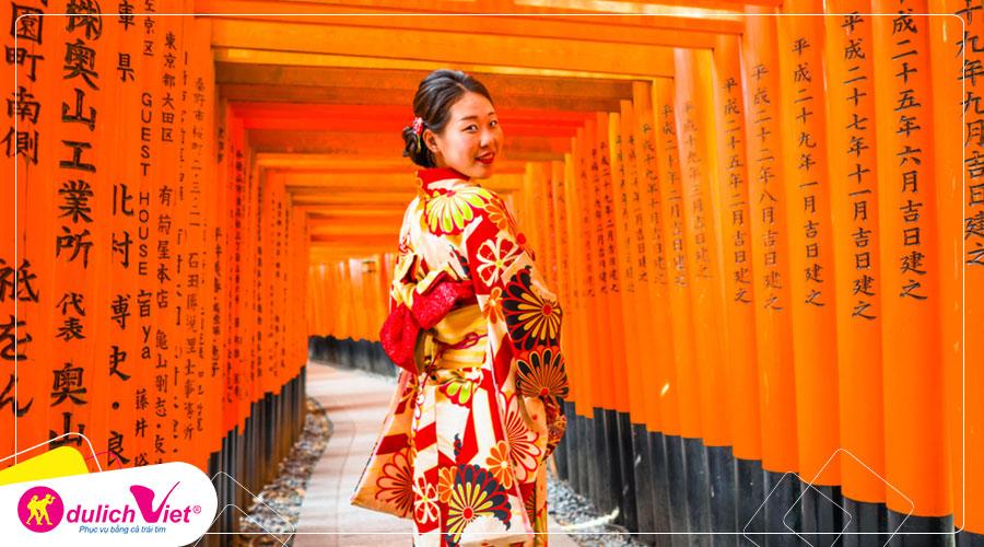 Du lịch Châu Á - Tour du lịch Brunei - Nhật Bản mùa Thu từ Sài Gòn