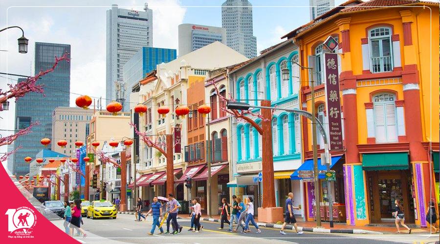 Du lịch Châu Á - Du lịch Singapore - Malaysia 5 ngày từ TP.HCM giá tốt 2018