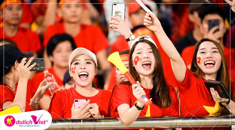 Du lịch Thái Lan cổ vũ đội tuyển bóng đá Việt Nam từ Sài Gòn giá tốt 2019