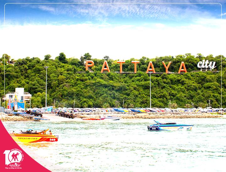 Tour du lịch Thái Lan Bangkok - Pattaya 5 ngày 4 đêm từ Sài Gòn giá tốt 2018